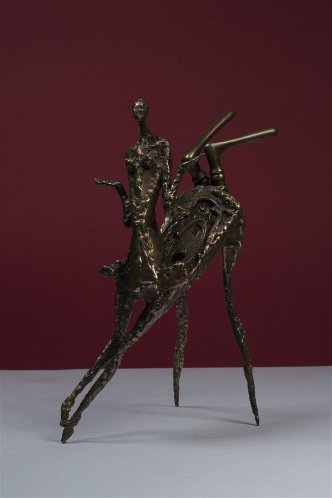centaureasa  bronz 37x27x16 cm