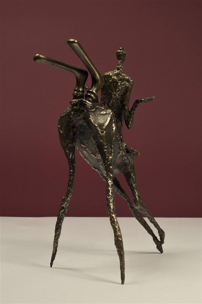 centaureasa  bronz 37x27x16 cmm
