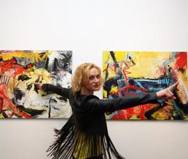 BEYOND – first solo Ursula Krauss